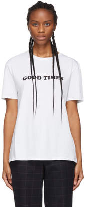 6397 White Good Times T-Shirt