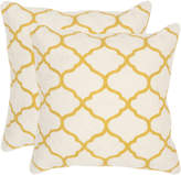 Safavieh Set Of 2 Rhea Pillows