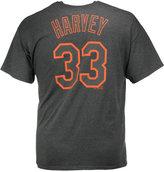 Majestic Men's Matt Harvey New York Mets Platinum Player T-Shirt