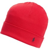 Polo Ralph Lauren Men's Thermal Cuff Cotton Cap - Red