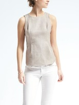 Banana Republic Easy Care Cutaway Tank