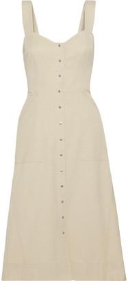 A.L.C. Varelli Flared Twill Dress