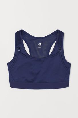 H&M MAMA Nursing sports bra