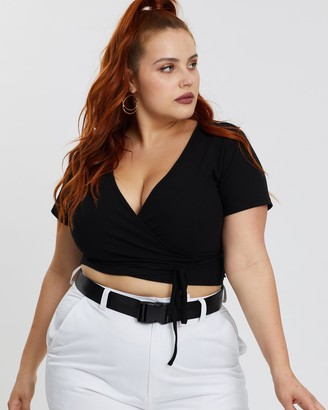 Mika Muse Muse Wrap Top