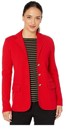 Lauren Ralph Lauren Petite Sweater Knit Blazer