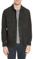 Billy Reid Men's Suede Work Shirt