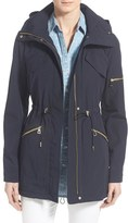 Vince Camuto Women's Drawstring Drop Tail Jacket