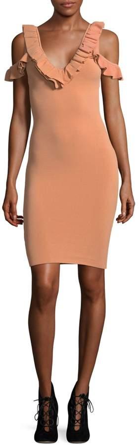 Ronny Kobo Sora Cold-Shoulder Dress