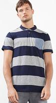 Esprit OUTLET striped polo shirt