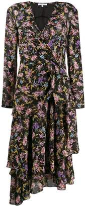 Patrizia Pepe floral-print asymmetric dress
