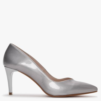 Laceys Cara Space New Silver Court Shoes