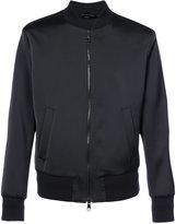 Neil Barrett printed back bomber jacket