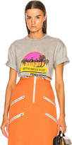 Fendi Applia Antica Boulevard Embellished Graphic Tee