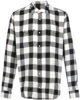 Maison Margiela classic plaid shirt - men - Cotton/Polyamide/Polyester - 39