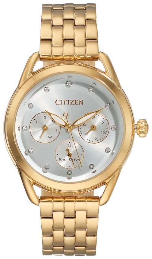 Citizen Drive From Eco-Drive Women's LTR Crystal Stainless Steel Watch - FD2052-58A
