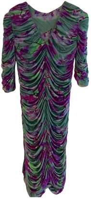 Matthew Williamson Purple Silk Dress for Women
