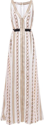 Temperley London Spirit Metallic Jacquard Maxi Dress