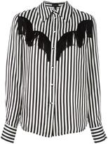 Marc Jacobs striped shirt - women - Cupro - 4