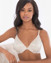 Vanishing Back Unlined Front Close Lace Bra