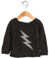 Oeuf Boys' Alpaca Intarsia Sweater