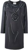 Moschino trompe-l'oeil sweatshirt dress - women - Polyamide/Spandex/Elastane/Rayon - 36