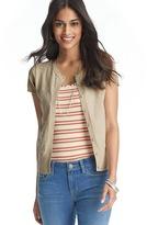 LOFT Short Sleeve Cotton Cardigan