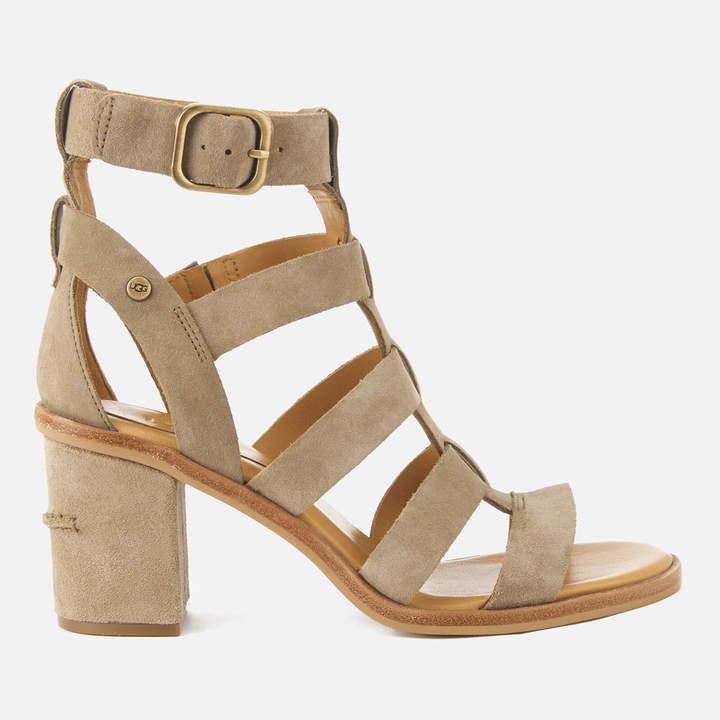 21579aaf826 Women's Macayla Gladiator Heeled Sandals - Antelope