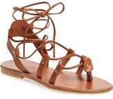 Topshop 'Foxy' Ghillie Sandal (Women)