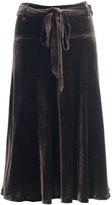 Bernie Velvet Skirt