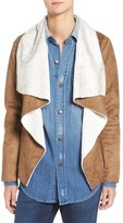 BB Dakota Women's Bourne Faux Shearling Jacket