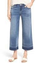 Women's Wit & Wisdom Wide Leg Crop Jeans