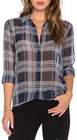 BB Dakota Blue Plaid Shirt