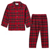 Rachel Riley Red Tartan Flannel Pyjamas