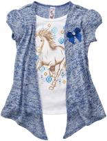 Knitworks KNIT WORKS Girl`s Horse Graphic T-Shirt