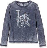 Pepe Jeans Girl's Carmen T-Shirt, Blue (Navy 595)
