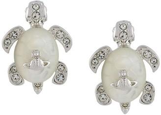 Vivienne Westwood Embellished Turtle Earrings