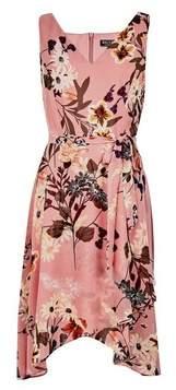 Dorothy Perkins Womens **Billie & Blossom Pink Floral Print Wrap Dress, Pink