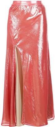 Ellery Suite One high-slit skirt
