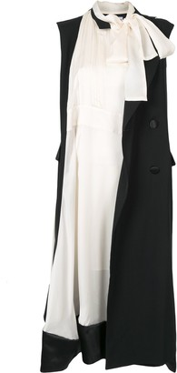 Sacai Asymmetric Sleeveless Dress