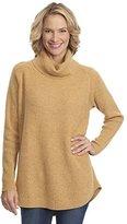 Woolrich Women's Clapshaw Cowl-Neck Tunic Sweater