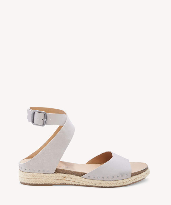 6f10034ed3e Women's Gladas Espadrille Wedges Chinchilla Size 5 Leather From Sole Society