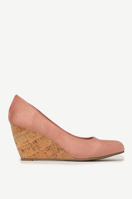 Ardene Cork Wedge Pumps