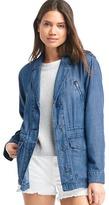 Indigo TENCEL utility jacket