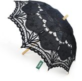 TopTie Lace Umbrella Wedding Parasol Costume Accessory Bridal Photograph