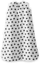 Halo SleepSack® Fleece Small Plus Signs Wearable Blanket in White/Black