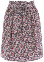 Oasis Ditsy Paper Bag Skirt