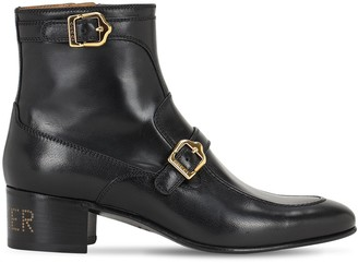 Gucci 45mm Ebal Leather Boots