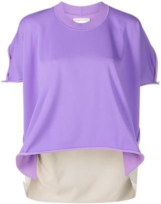 Bottega Veneta panelled short-sleeve T-shirt