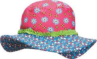 Playshoes Girl's UV-Schutz Sonnenhut Blumen Hat,(Size:55cm)