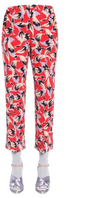 N°21 N.21 Crepe De Chine Pajama Trousers